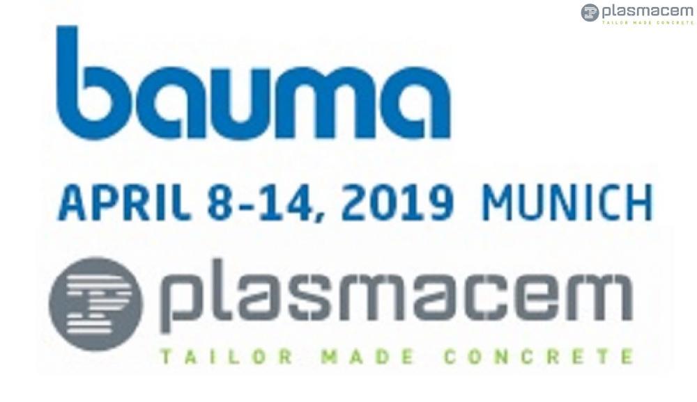 PLASMACEM WILL BE AT BAUMA 2019......WE WAIT YOU!!!!