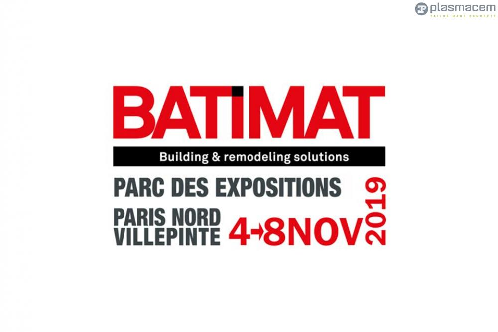 PLASMACEM WILL BE AT THE NEW EDITION OF BATIMAT 2019