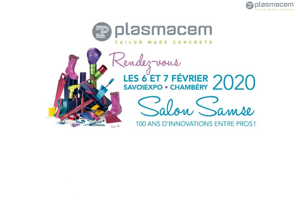 PLASMACEM VOUS ATTEND AU SALON SAVOIEXPO DE CHAMBERY - FRANCE