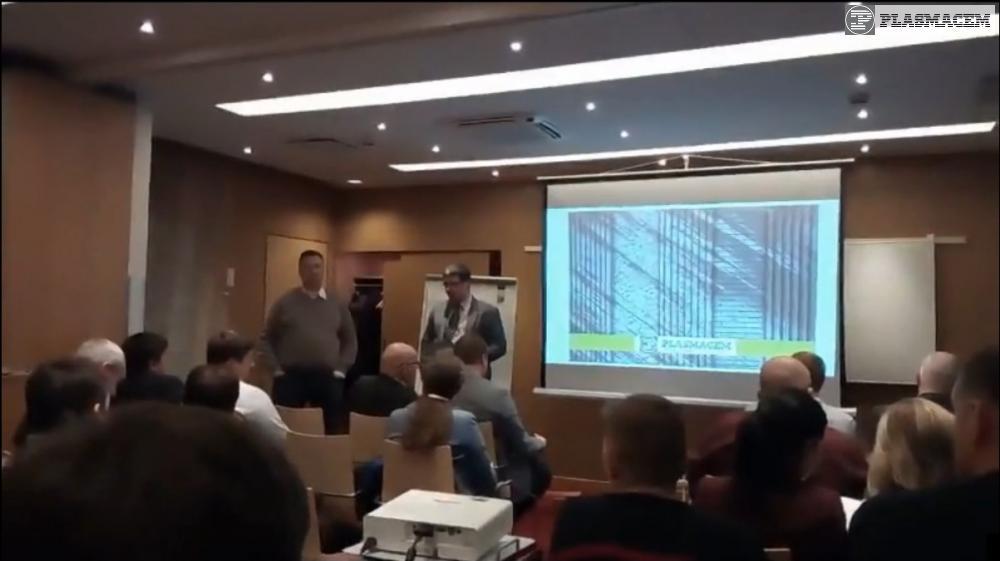 PLASMACEM - CONFERENZA A MARGINE DELLA FIERA ICCX A S.PIETROBURGO
