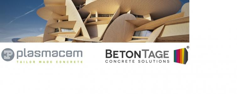PLASMACEM IS PRESENT AT THE BETONTAGE EDITION IN NEU-ULM IN GERMANY FROM 17 TO 21 FEBRUARY 2020