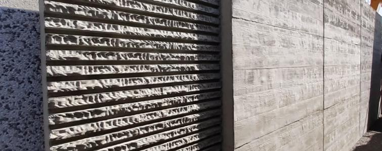 PLASMACEM - TAILOR MADE CONCRETE - Création de panneaux pour le nouvel HYPERMARCHÉ Caravage