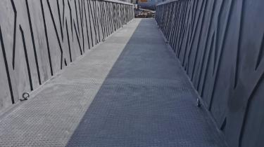 PLASMACEM - PEDESTRIAN WALKWAYS IN SOUTH SWITZERLAND